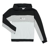 Odjeća Djevojčica Sportske majice Fila POLLY Crna / Siva