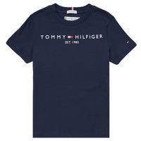 Odjeća Dječak  Majice kratkih rukava Tommy Hilfiger SELINERA Blue