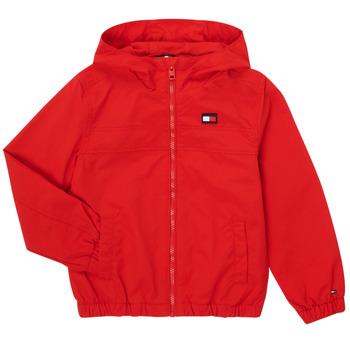Odjeća Dječak  Kratke jakne Tommy Hilfiger ANTHINEA Red
