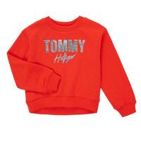 Odjeća Djevojčica Sportske majice Tommy Hilfiger KOMELA Red
