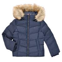 Odjeća Djevojčica Pernate jakne Tommy Hilfiger RESTRI Blue
