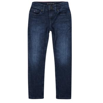 Odjeća Dječak  Slim traperice Tommy Hilfiger ARMAND Blue