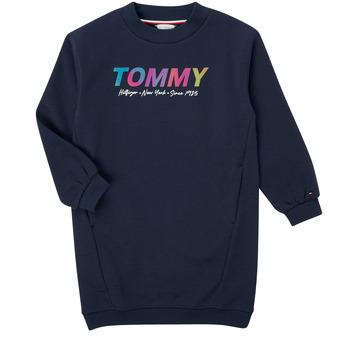Odjeća Djevojčica Kratke haljine Tommy Hilfiger BELISTA Blue
