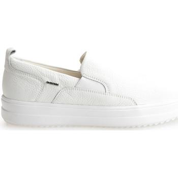 Obuća Muškarci  Slip-on cipele Geox  Bijela