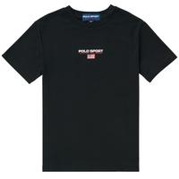 Odjeća Dječak  Majice kratkih rukava Polo Ralph Lauren ANNITA Crna