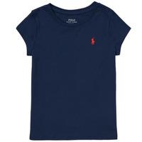 Odjeća Djevojčica Majice kratkih rukava Polo Ralph Lauren DRETU Blue