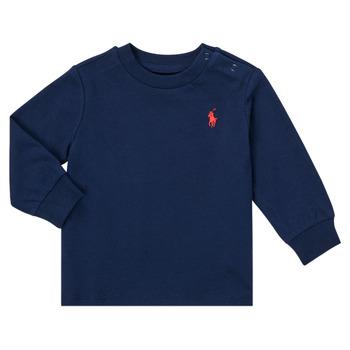 Odjeća Dječak  Majice dugih rukava Polo Ralph Lauren FADILA Blue