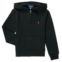 Odjeća Dječak  Sportske majice Polo Ralph Lauren SINELA Crna