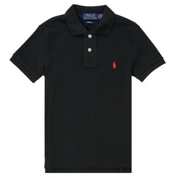 Odjeća Dječak  Polo majice kratkih rukava Polo Ralph Lauren HOULIA Crna