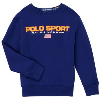 Odjeća Dječak  Sportske majice Polo Ralph Lauren SENINA Blue