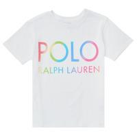 Odjeća Djevojčica Majice kratkih rukava Polo Ralph Lauren FERILO Bijela