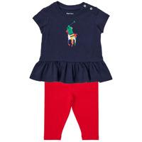 Odjeća Dječak  Dječji kompleti Polo Ralph Lauren BETINA Multicolour