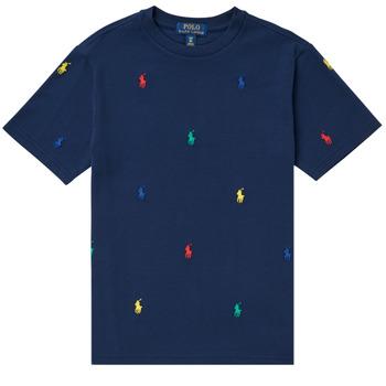Odjeća Dječak  Majice kratkih rukava Polo Ralph Lauren MOULINE Blue