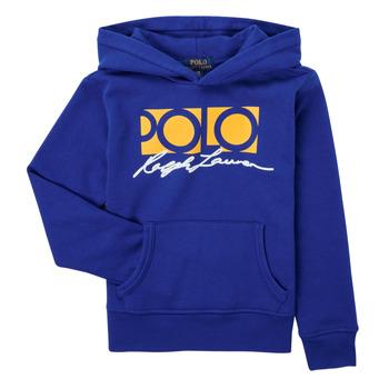 Odjeća Dječak  Sportske majice Polo Ralph Lauren SILENA Blue