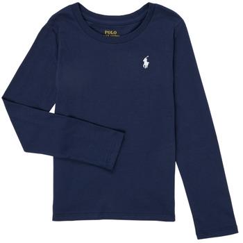 Odjeća Djevojčica Majice dugih rukava Polo Ralph Lauren TENINA Blue