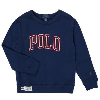 Odjeća Dječak  Sportske majice Polo Ralph Lauren KAMILLAR Blue
