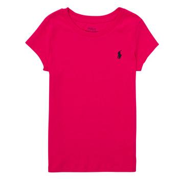 Odjeća Dječak  Majice kratkih rukava Polo Ralph Lauren ASKIRA Ružičasta