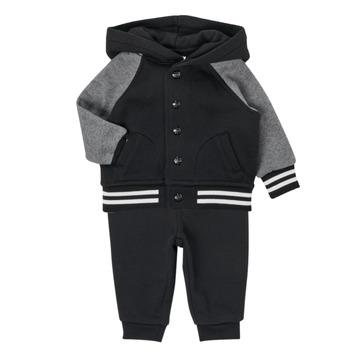 Odjeća Dječak  Dječji kompleti Polo Ralph Lauren DENILO Crna / Siva
