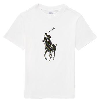 Odjeća Dječak  Majice kratkih rukava Polo Ralph Lauren GUILIA Bijela