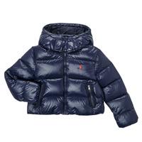 Odjeća Djevojčica Pernate jakne Polo Ralph Lauren TREFINA Blue