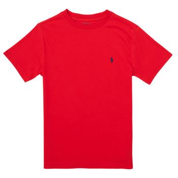 Odjeća Dječak  Majice kratkih rukava Polo Ralph Lauren FOLLIA Red