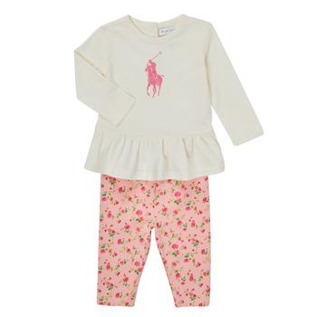 Odjeća Djevojčica Dječji kompleti Polo Ralph Lauren FRENNO Multicolour