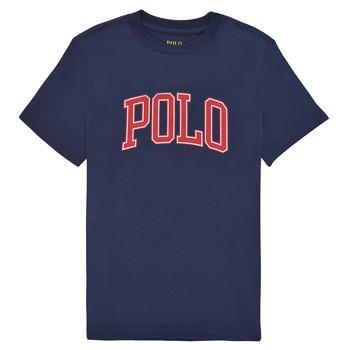 Odjeća Dječak  Majice kratkih rukava Polo Ralph Lauren MALIKA Blue
