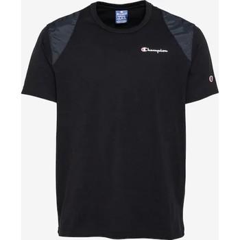 Odjeća Muškarci  Majice kratkih rukava Champion CAMISETA HOMBRE  KK001 Crna
