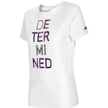 Odjeća Žene  Majice kratkih rukava 4F TSD018 Bijela