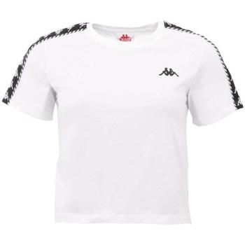 Odjeća Žene  Majice kratkih rukava Kappa Inula Tshirt Bijela