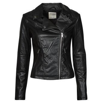 Odjeća Žene  Kožne i sintetičke jakne Esprit PU BIKER Crna