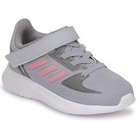 Obuća Djevojčica Running/Trail adidas Performance RUNFALCON 2.0 I Siva / Ružičasta