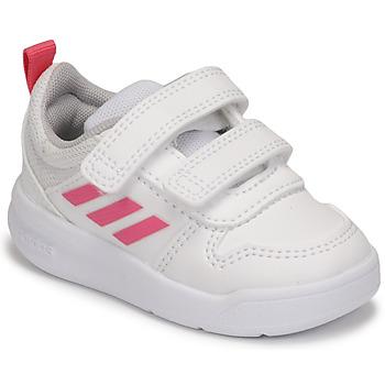 Obuća Djevojčica Niske tenisice adidas Performance TENSAUR I Bijela / Ružičasta