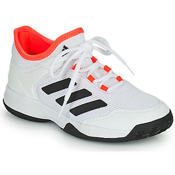 Obuća Djeca Tenis adidas Performance Ubersonic 4 k Bijela / Red