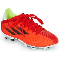 Obuća Djeca Nogomet adidas Performance X SPEEDFLOW.3 FG J Red