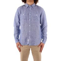 Odjeća Muškarci  Košulje dugih rukava Blauer 21SBLUS01221 BLUE