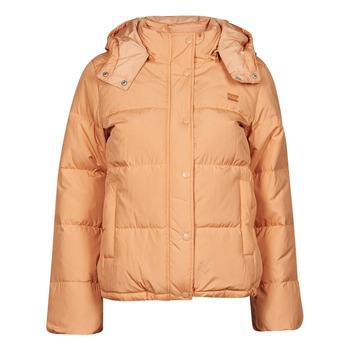 Odjeća Žene  Pernate jakne Levi's QUINN SHORT DOWN PUFFER Boja breskve