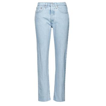 Odjeća Žene  Boyfriend traperice Levi's 501 CROP Blue