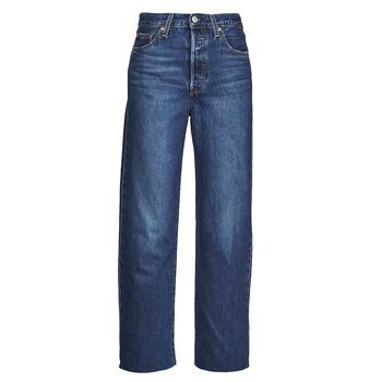 Odjeća Žene  Traperice ravnog kroja Levi's RIBCAGE STRAIGHT ANKLE Blue