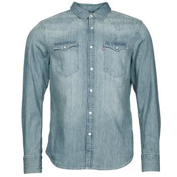 Odjeća Muškarci  Košulje dugih rukava Levi's BARSTOW WESTERN STANDARD Blue