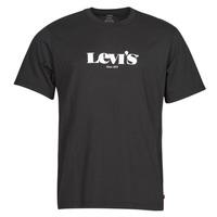 Odjeća Muškarci  Majice kratkih rukava Levi's SS RELAXED FIT TEE Crna