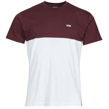 Odjeća Muškarci  Majice kratkih rukava Vans COLORBLOCK TEE Bijela