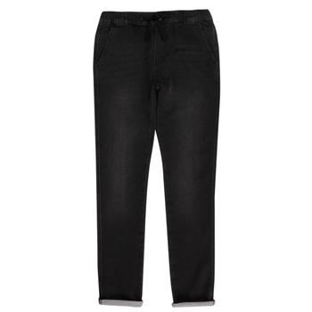 Odjeća Dječak  Hlače s pet džepova Teddy Smith JOGGER SWEAT Crna