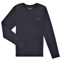 Odjeća Dječak  Majice dugih rukava Teddy Smith T-NARK ML Blue
