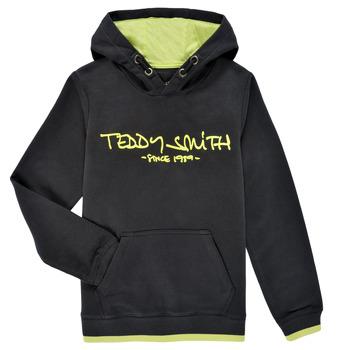 Odjeća Dječak  Sportske majice Teddy Smith SICLASS HOODY Crna