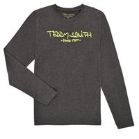 Odjeća Dječak  Majice dugih rukava Teddy Smith TICLASS3 ML Siva