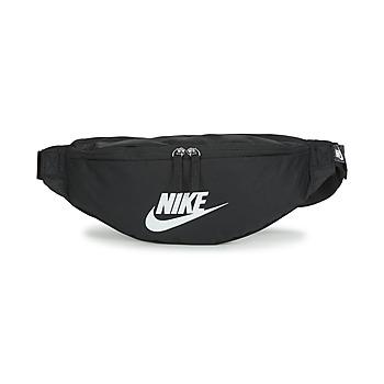 Torbe Pojasne torbice Nike NK HERITAGE WAISTPACK - FA22 Crna / Bijela