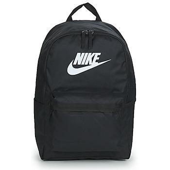 Torbe Ruksaci Nike NIKE HERITAGE Crna / Bijela