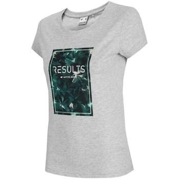 Odjeća Žene  Majice kratkih rukava 4F TSD031 Siva