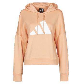 Odjeća Žene  Sportske majice adidas Performance WIFIEB HOODIE Blush / Ambiant